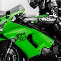 Kawasaki Ninja Zx-6r by Andrea Mazzocchetti