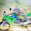 Kawasaki Quick - Kawasaki Zl1000 by Brian  Commerford