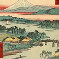 Kawasaki by Utagawa Hiroshige