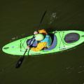 Kayak Aerial by Britt Runyon