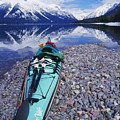 Kayak Ashore by Bill Brennan - Printscapes