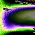Kayak In The Cut by Tim Allen