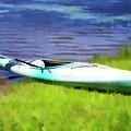 Kayak In Upstate Ny by Jeelan Clark
