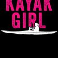 Kayak Kayak Girl Pink Gift Light by J P