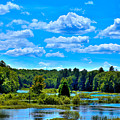 Kayak On The Moose River by David Patterson