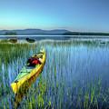 Kayak Sunrise by John Sandiford