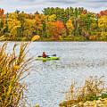 Kayaking In Fall by Nick Zelinsky