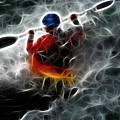 Kayaking In The Zone 3 by Bob Christopher
