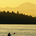 Kayaking Lake Almanor by Sherri Meyer