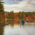 Kayaking On A Beautiful Fall Day by Darylann Leonard Photography