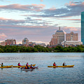 Kayaking On The Charles by Susan Cole Kelly