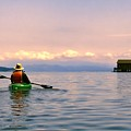 Kayaking Penn Cove by Rick Lawler