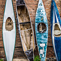 Kayaks 4 by Ashley M Conger