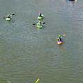 Kayaks And Rafts by Britt Runyon