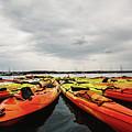 Kayaks by Gemma Silvestre