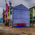 Kayaks On Burano Venice_dsc5681_03072017 by Greg Kluempers