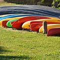 Kayaks by Teresa Blanton