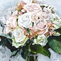 Kayleigh's Bridal Bouquet by Donna Tuten