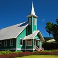Ke Ola Mau Loa Church - Waimea by Steven Rice