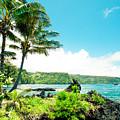 Keanae Waialohe Maui Hawaii by Sharon Mau