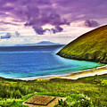 Keem Bay - Ireland by Bill Cannon