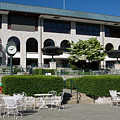 Keeneland Racetrack Grandstand by Sally Weigand
