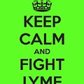 Keep Calm And Fight Lyme by Laura Michelle Corbin