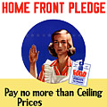 Keep The Home Front Pledge by War Is Hell Store