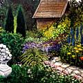 Keeper Of The Garden by Elizabeth Robinette Tyndall
