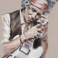 Keith Richards by Melanie D