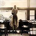 Kelly In The Window by Anni Adkins