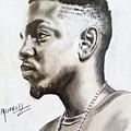 Kendrick Lamar by Daniel Murrell