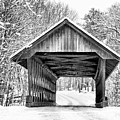Keniston Covered Bridge  by Betty Pauwels