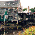 Kennebunkport At Low Tide by Robert Gladwin