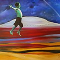 Kenny Jumpin For Joy   88 by Cheryl Nancy Ann Gordon