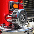 Kensington Fire District Fire Engine Siren . 7d15879 by Wingsdomain Art and Photography