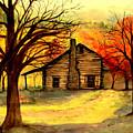 Kentucky Cabin by Gail Kirtz