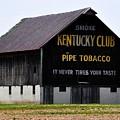 Kentucky Club Pipe Tobacco Barn by Robert Habermehl