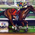 Kentucky Derby Winner Street Sense by Dave Olsen