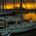 Kentucky Lake Sunset by Walt Sterneman