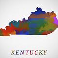 Kentucky Map by Dan Sproul