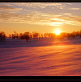 Kentucky Winter Sunrise by Keith Bridgman