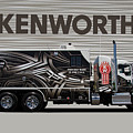 Kenworth Proudly Made In The Usa by Nick Gray