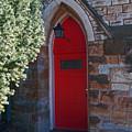 Red Church Door by George D Gordon III