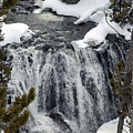 Firehole Falls Yellowstone by Cindy Murphy - NightVisions