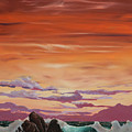 Kerry Sunset by Sheila Carey