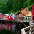 Ketchikan Alaska by David Hansen