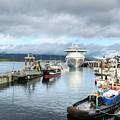 Ketchikan Harbor 2 by Mel Steinhauer