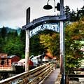 Ketchikan's Creek Street by Mel Steinhauer