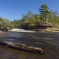 Kettle River Big Spring Falls 6 by John Brueske